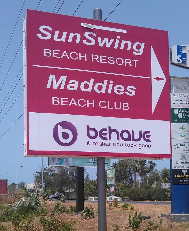 Sunswing Beach Resort Gambia Kololi