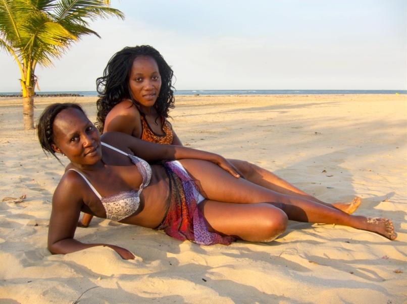 Африканские Подростки Натуристы